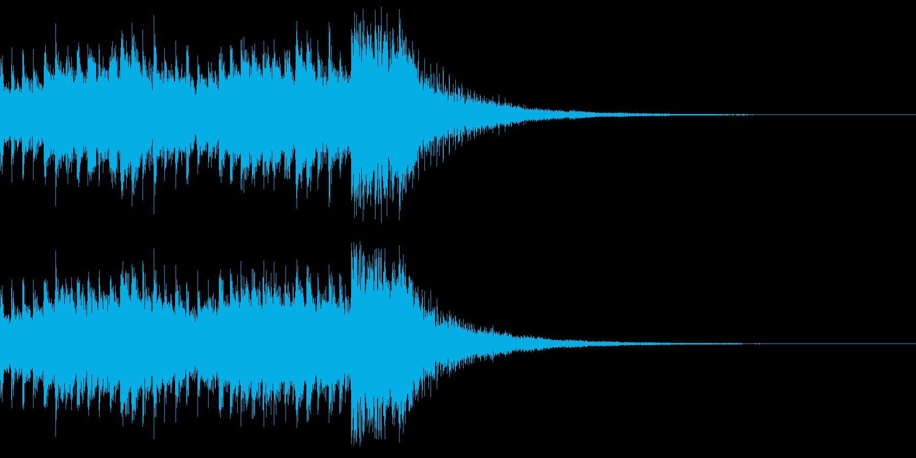 ジングル 三味線 着信音 和風 大喜利の再生済みの波形
