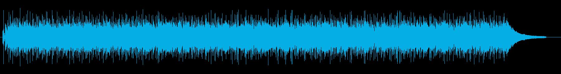 キラキラ アップテンポ アコースティックの再生済みの波形
