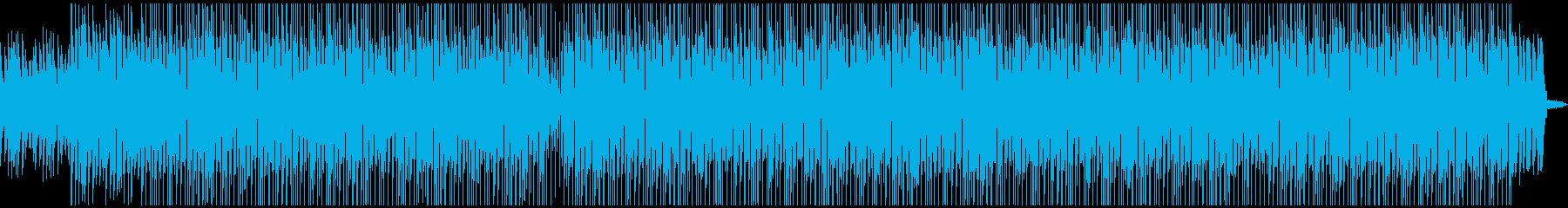 明るい気分になるパーティーチューン1の再生済みの波形