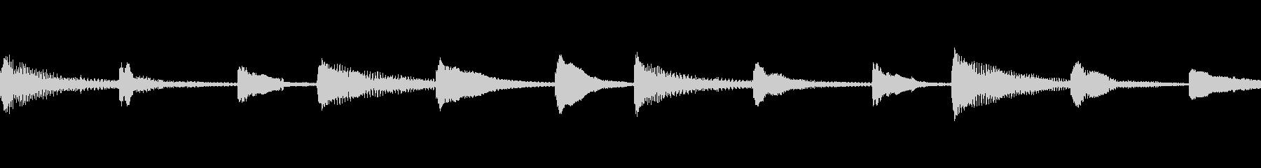 マリンバ、カリンバ、ストリングス、...の未再生の波形