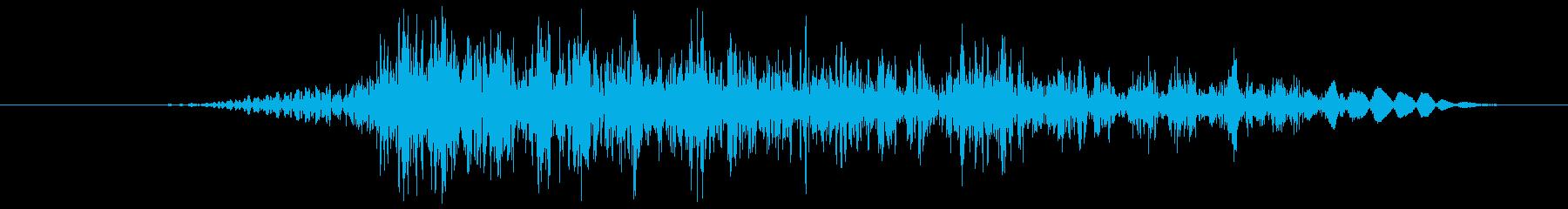 ANIMAL VOCAL Voca...の再生済みの波形