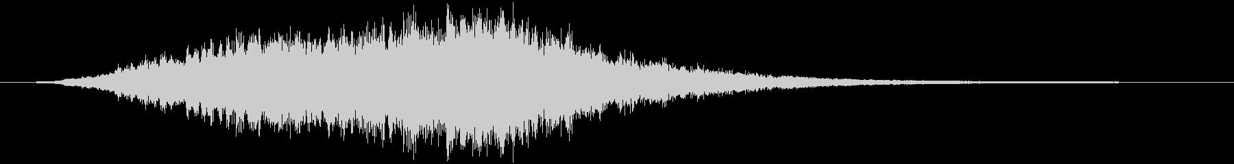 音楽効果;不気味なショートトゥイン...の未再生の波形