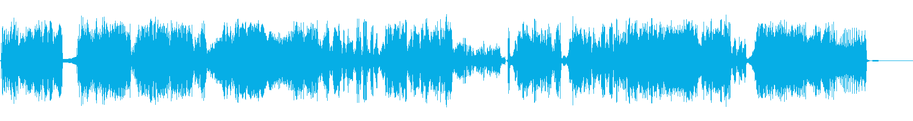 静的干渉スイープ7の再生済みの波形