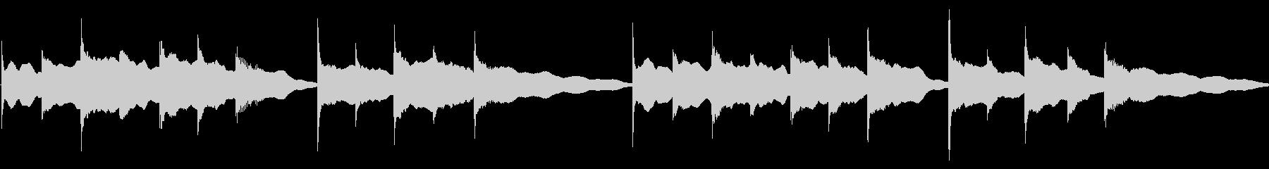 ビブラフォンの子守唄 その3の未再生の波形