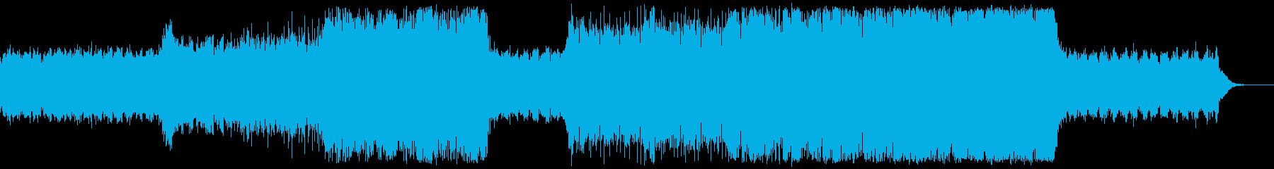 エピック×エレクトロ 幻想的で壮大の再生済みの波形