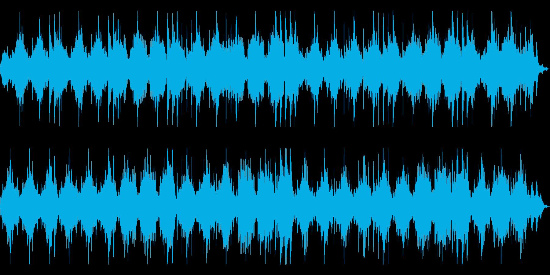 瞑想やヨガ、睡眠誘導のための音楽 06の再生済みの波形