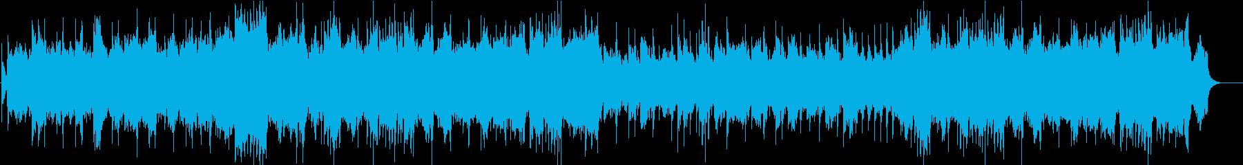 ノクターン第2番 オルゴールオーケストラの再生済みの波形