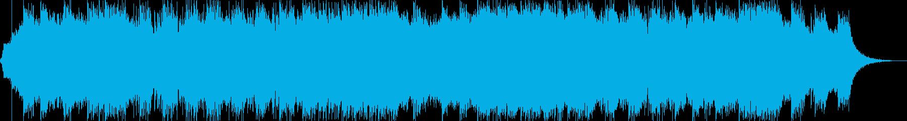 ダークファンタジーオーケストラ戦闘曲48の再生済みの波形