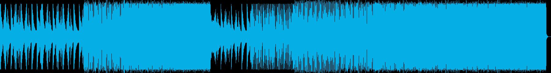 涼しげで疾走感のあるハウスNo578_1の再生済みの波形