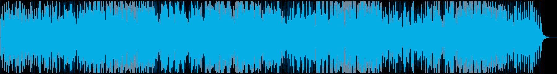 滑らかで心地よいジャズの再生済みの波形