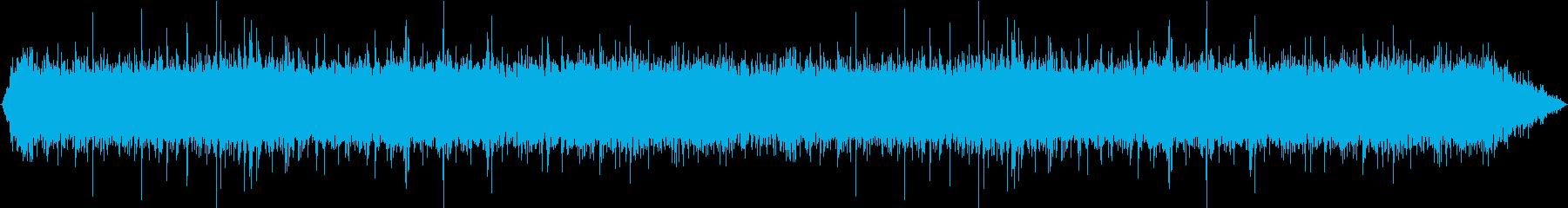 雨の再生済みの波形