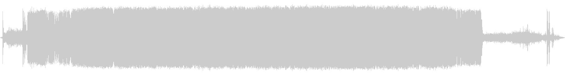 ツールバンドソーの未再生の波形