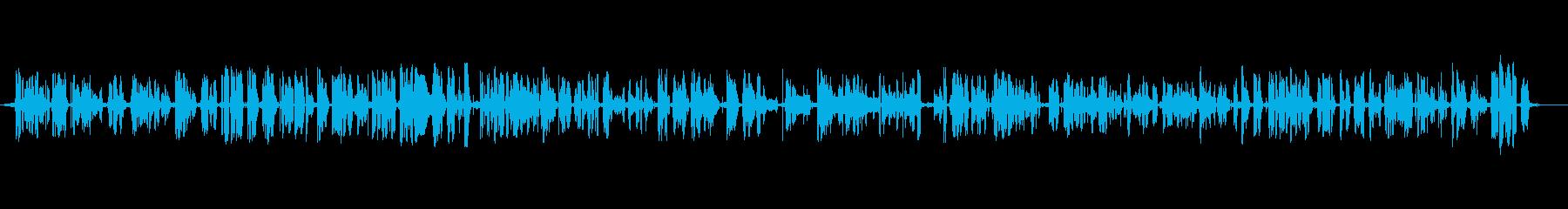 テレビ;アナウンサーと入力音を含む...の再生済みの波形