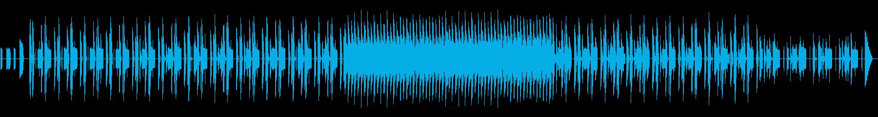 ★レトロアーケードゲーム的チップチューンの再生済みの波形