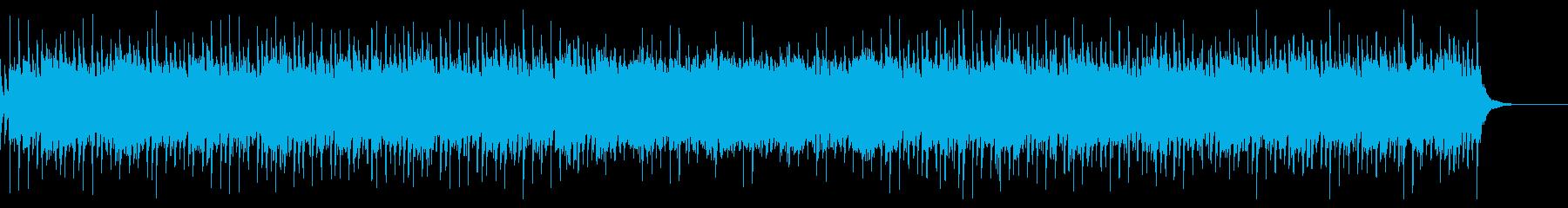 優しい琴の和風曲の再生済みの波形