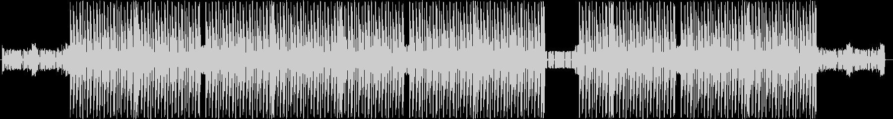 洋楽、ハードトラップ、ヒップホップビートの未再生の波形