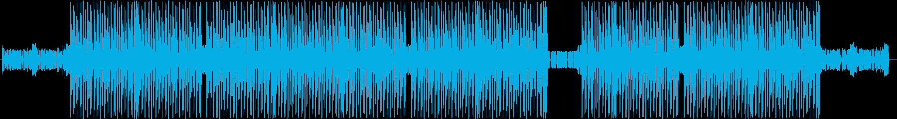 洋楽、ハードトラップ、ヒップホップビートの再生済みの波形