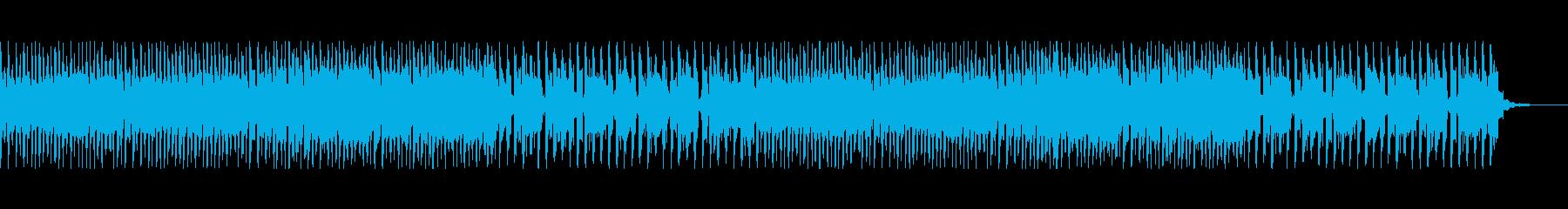 ほのぼのした日常のフルートメロディーの再生済みの波形
