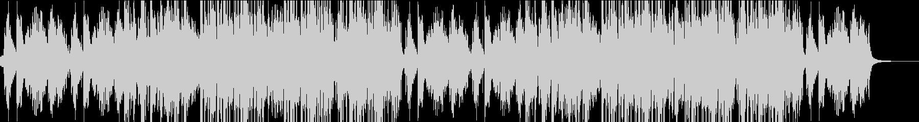 ヴィブラフォンのメロディが楽しいBGMの未再生の波形