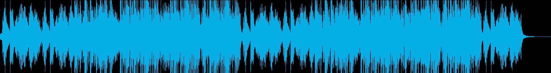 ヴィブラフォンのメロディが楽しいBGMの再生済みの波形
