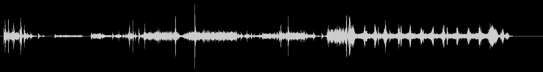 プリンター02-01(印刷)の未再生の波形