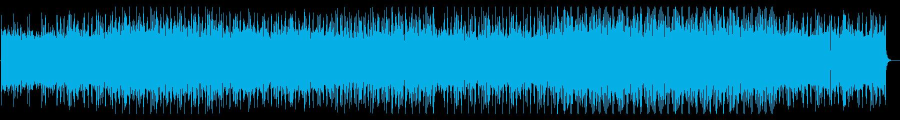癒し、かっこいいチル系エレクトロニカの再生済みの波形