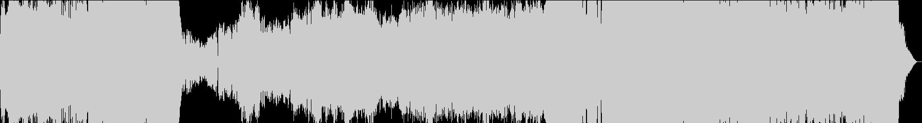 KANT壮大なシネマティックBGMの未再生の波形