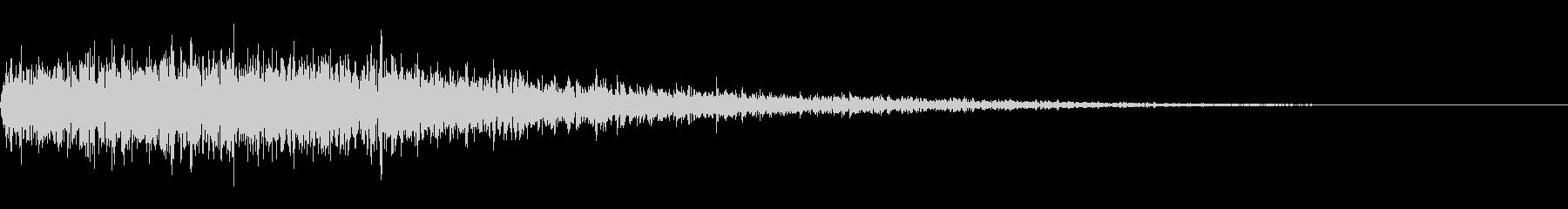 クリック音265 ブオオオオンの未再生の波形