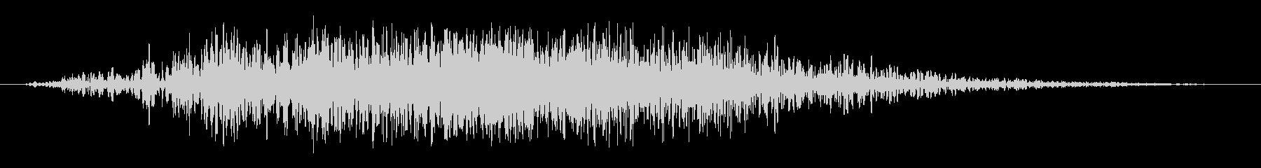 マーキュリーサンダーの未再生の波形