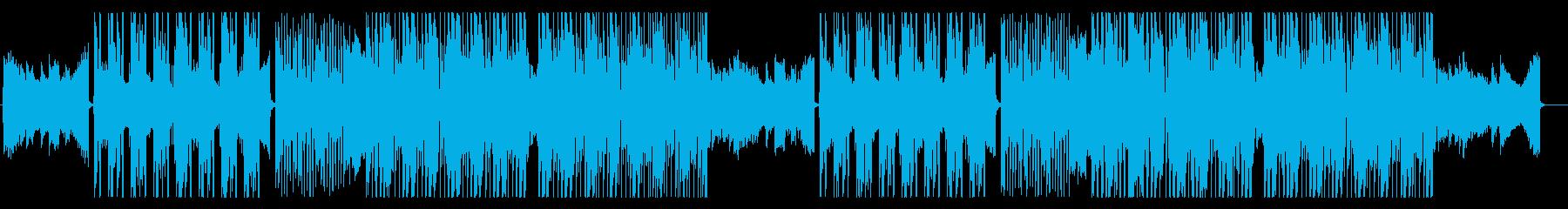 メッセージ性の高い映像をイメージ、R&Bの再生済みの波形