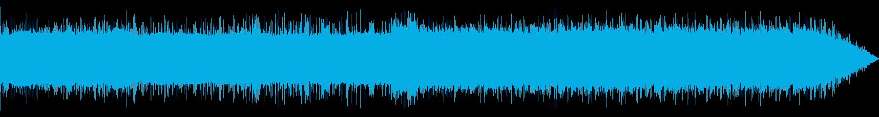 クールなHIPHOP、インダストリアルの再生済みの波形