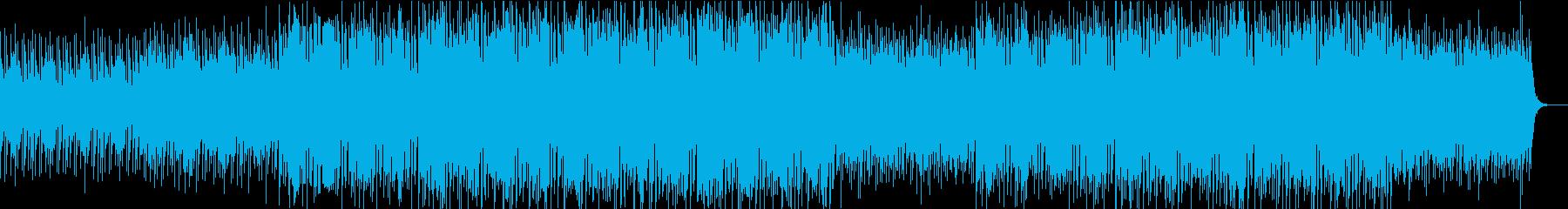 おしゃれでスタイリッシュなエレクトロの再生済みの波形