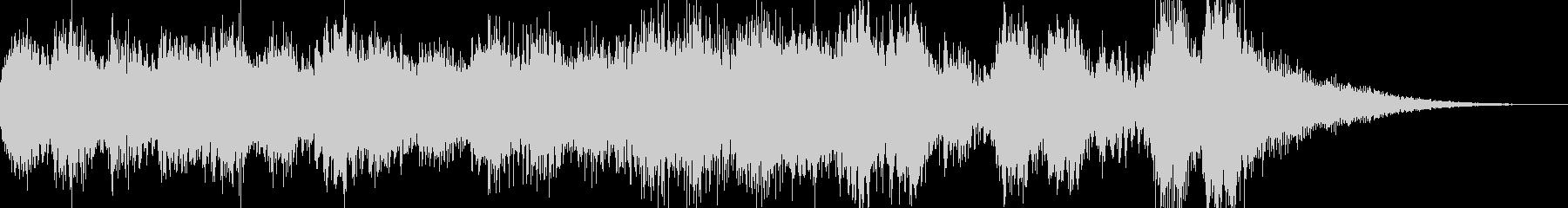 オーケストラ調のジングルです。の未再生の波形