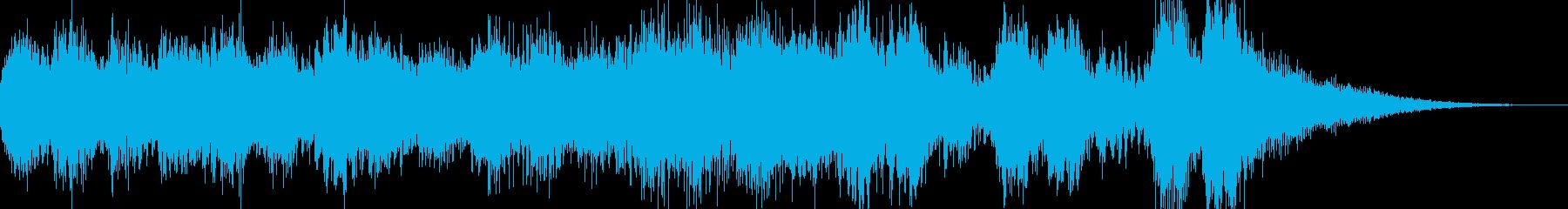 オーケストラ調のジングルです。の再生済みの波形