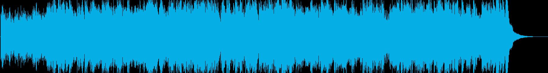 オープニング等にあう元気なチェンバロ曲の再生済みの波形