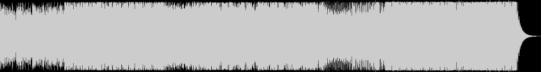 勢いのあるバトル系EDMの未再生の波形
