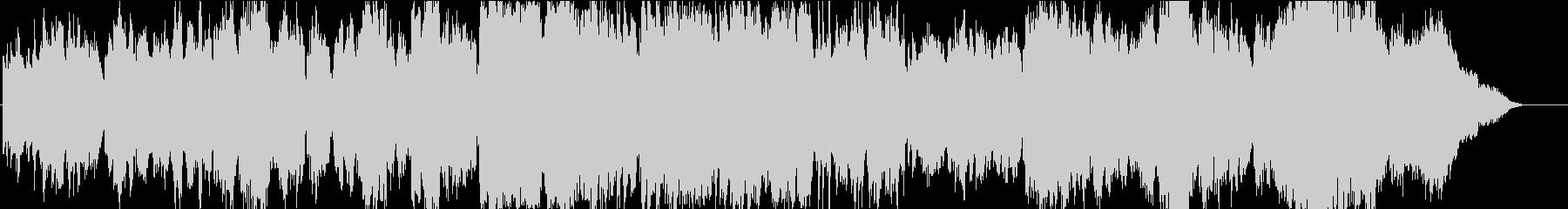 軽い弦とフルートの感情的なピアノ/...の未再生の波形