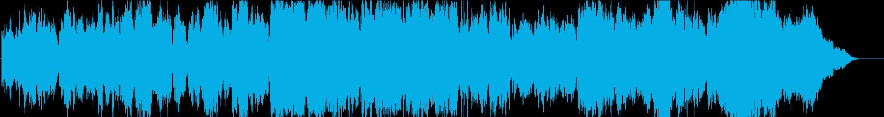軽い弦とフルートの感情的なピアノ/...の再生済みの波形