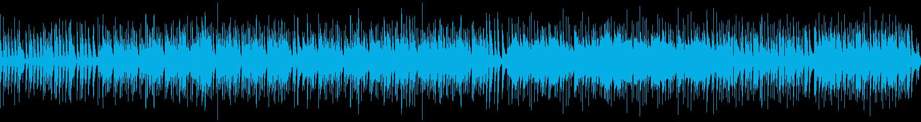 海風を感じるかわいいボサノバの再生済みの波形