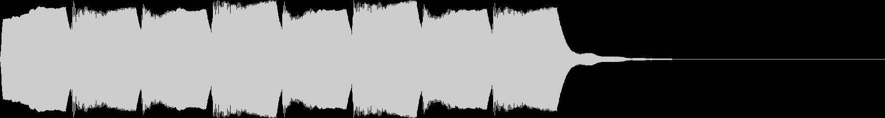 救急車のサイレンE(ハーモニック・短)の未再生の波形