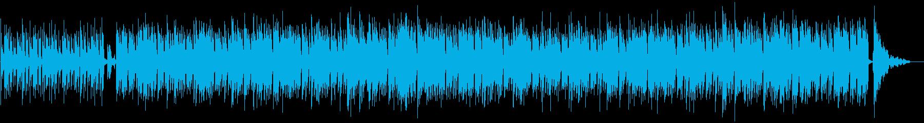 爽やかで汎用性あるボサノバの再生済みの波形