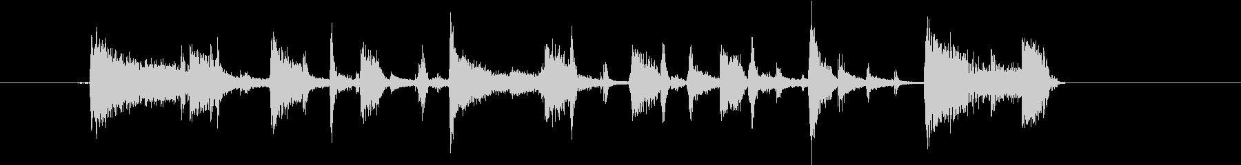 バウンドサウンドのファンク調ジングルの未再生の波形