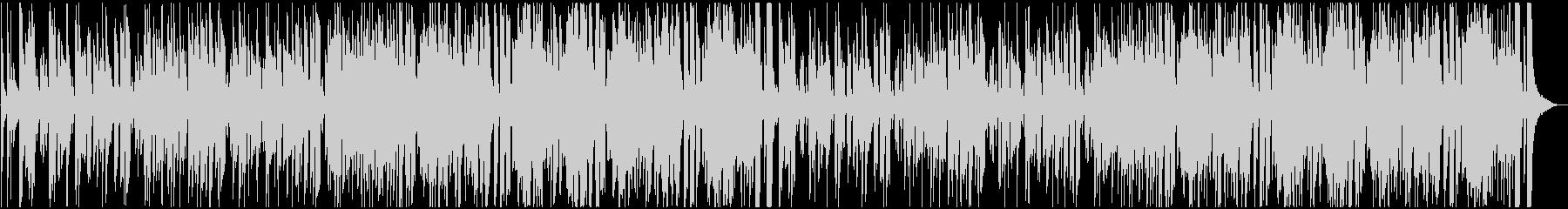 グルーヴィーなJAZZフュージョンBGMの未再生の波形