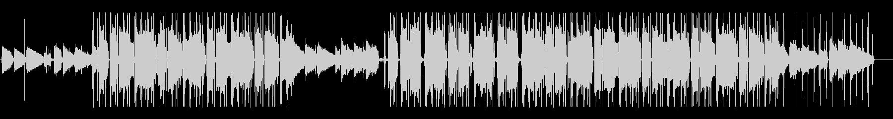 [カフェ]オシャレJazzyHipHopの未再生の波形