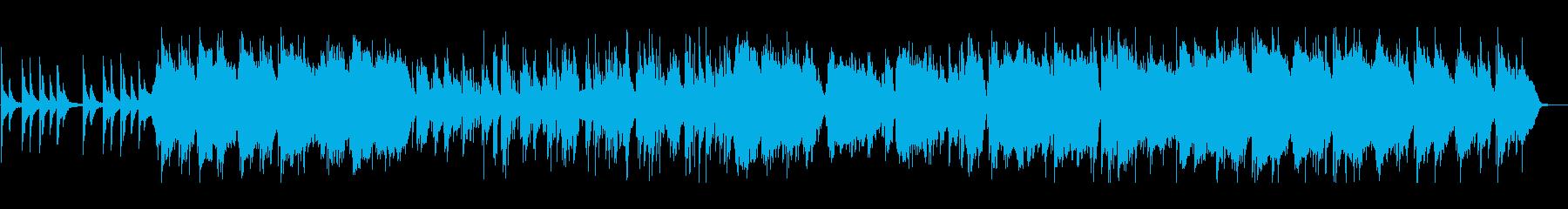 インストゥルメンタルピアノのメロデ...の再生済みの波形