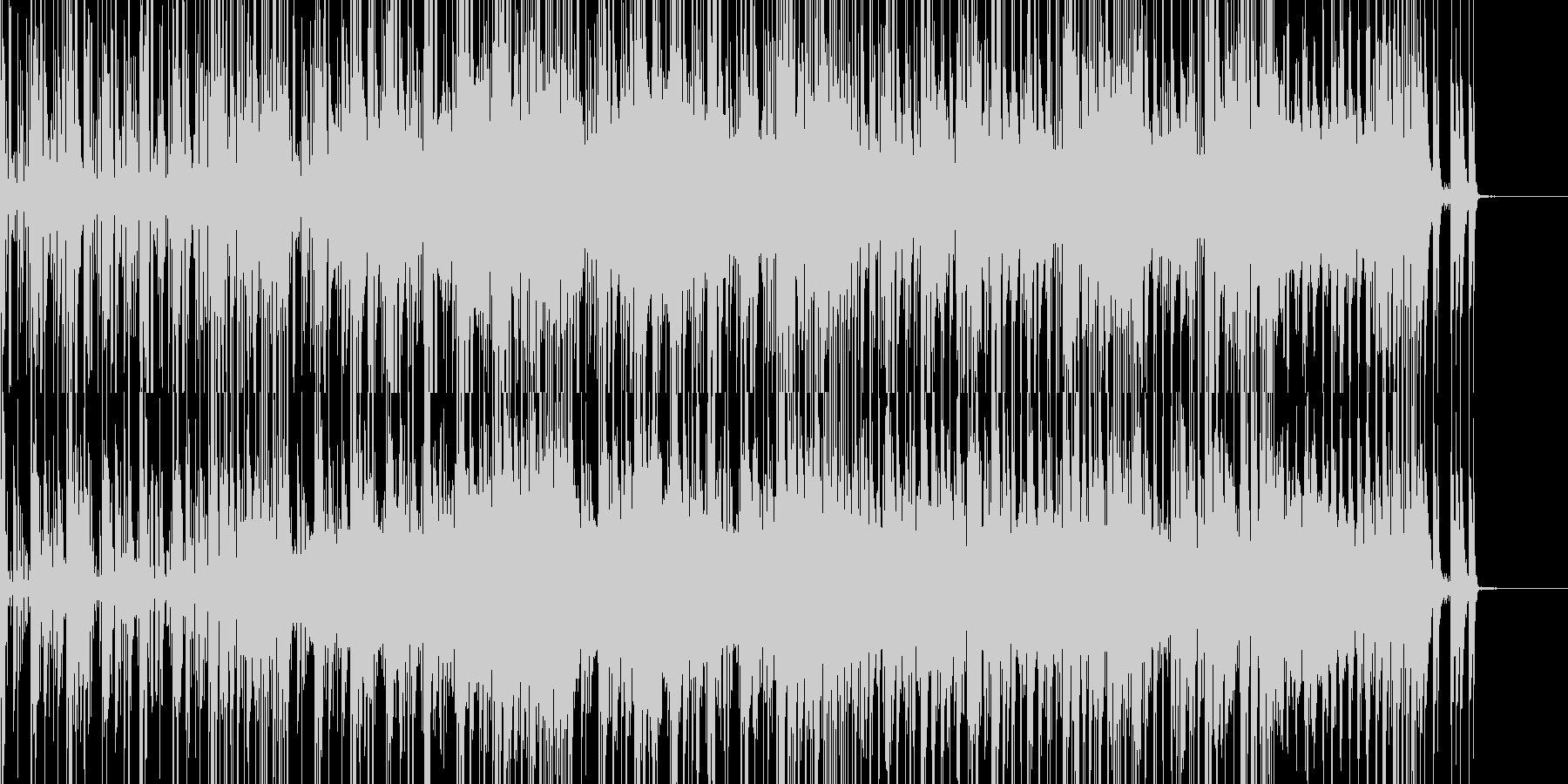 キカイの森に迷い込んだようなトランスの未再生の波形