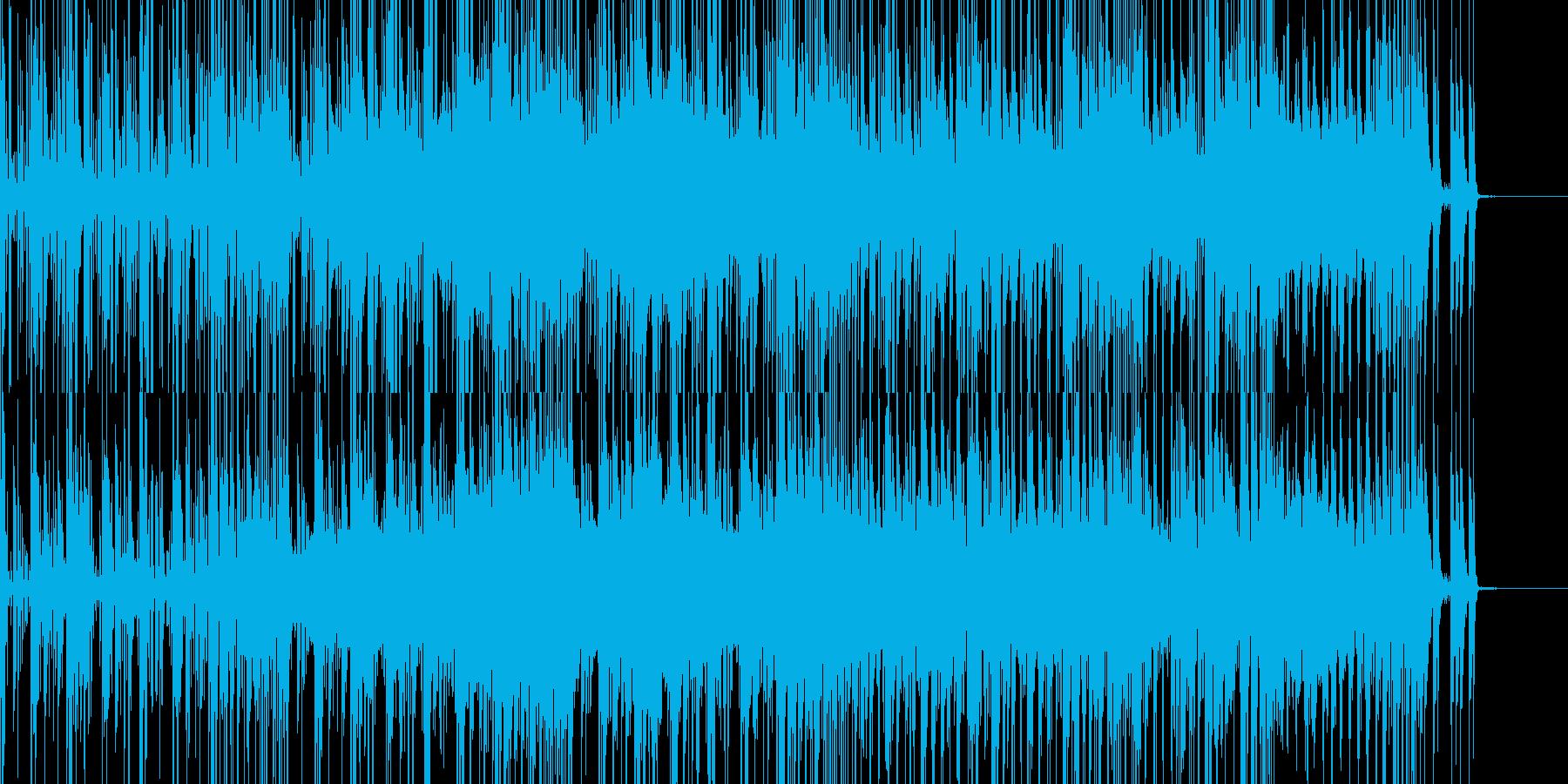 キカイの森に迷い込んだようなトランスの再生済みの波形