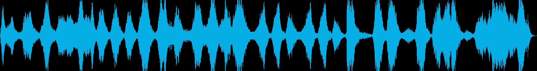 ゆったりとした弦とソプラノの声のメ...の再生済みの波形