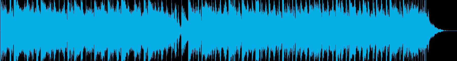 奇妙で少し不安感を煽るBGMの再生済みの波形