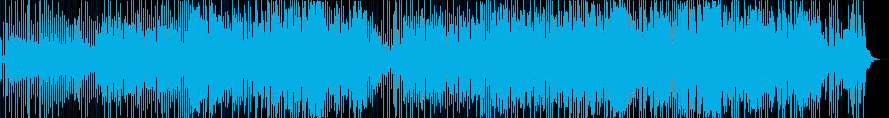 ゆったり空を旅するほのぼのしたBGMの再生済みの波形